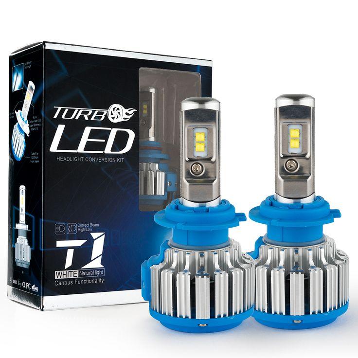 Super Bright Mobil Lampu H7 LED H1 H3 H11 9005 HB4/9006 70 W 7000lm Auto Depan Bulb Mobil Headlamp 6000 K Mobil pencahayaan