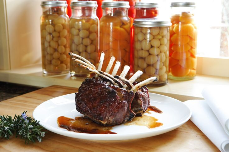 Rack of Lamb with Quince Glaze - Maggie Beer