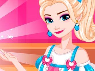 Bolo de Casamento da Elsa: Elsa é uma designer de bolo muito talentosa. Ela quer projetar um bolo de casamento temático para o casamento de seus melhores amigos.