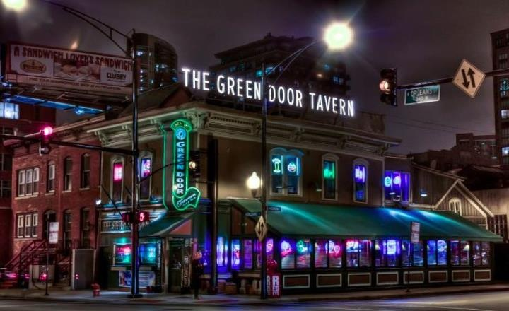 The Meaning Of The Green Door Tavern In Chicago Who