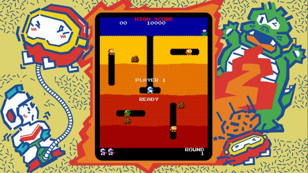 Namco Museum on Switch simulates coin-op arcade gaming: Namco Museum on Switch simulates coin-op arcade gaming:…