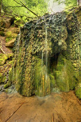 GC28JMY Geheimnisvolles Saarland: Rimlinger Wasserfälle (Traditional Cache) in Saarland, Germany created by DrAlzheimer