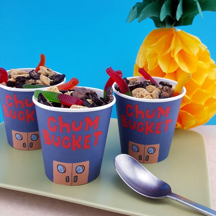 SpongeBob SquarePants Chum Bucket Recipe