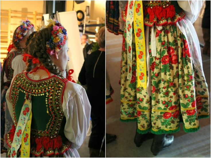I want a #skirt like that. #Traditional #Krakow more here: http://twistedredladybug.blogspot.com/2014/04/the-soul-of-poland.html