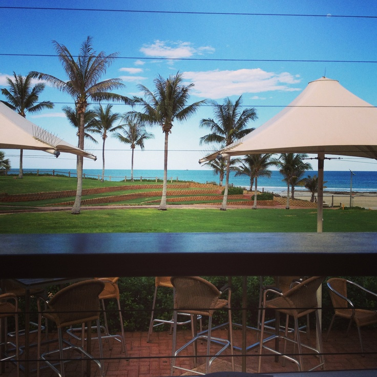 Breakfast with a view. Cable Beach Club.