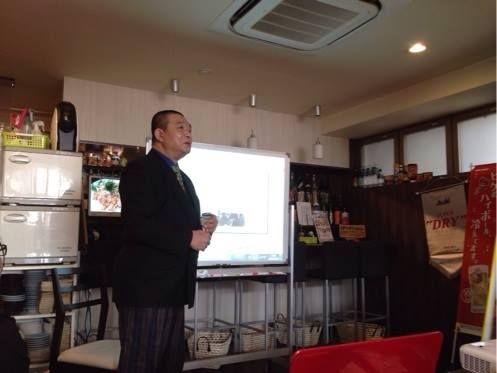 くまはち講義中の写真 http://kumahachi.me/