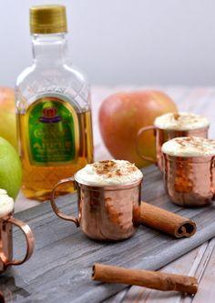 Crown Royal Warm Apple Cider Shot Recipe