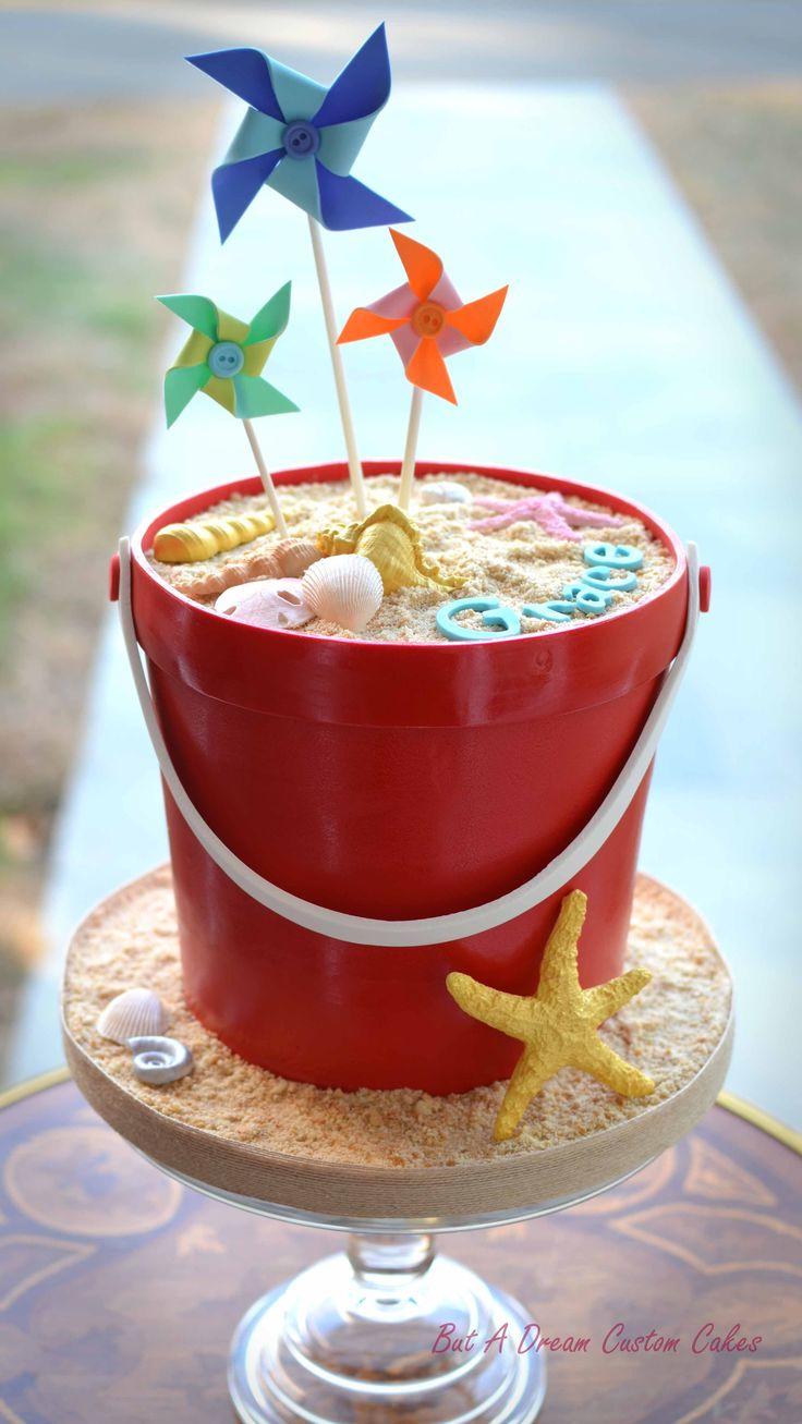 Sand Bucket Cake!