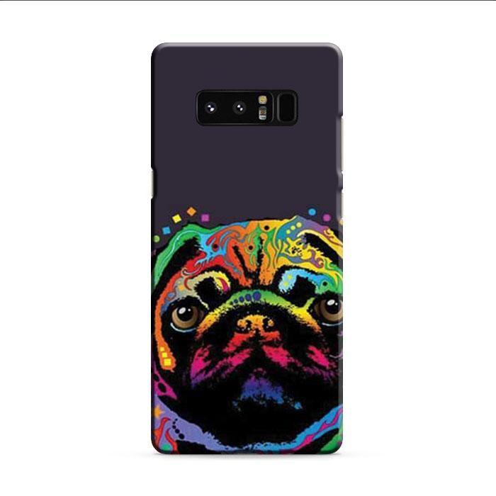 Pug Pop Art 2 Samsung Galaxy Note 8 3D Case
