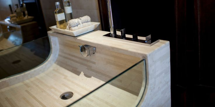Bespoke bathroom basin