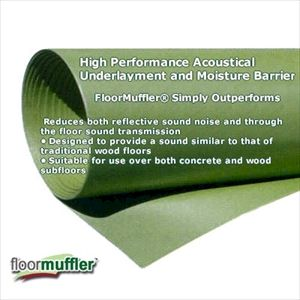 FloorMuffler The Floor Muffler w/ Lip & Tape