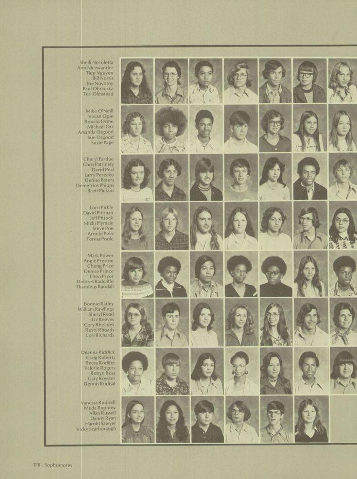 1976 Denbigh High School Yearbook Via Classmates Com