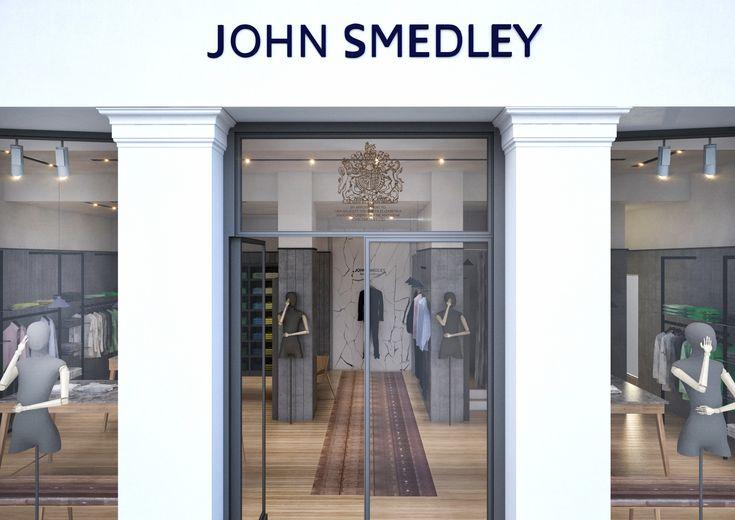 John Smedley Jermyn Street visual by AMD