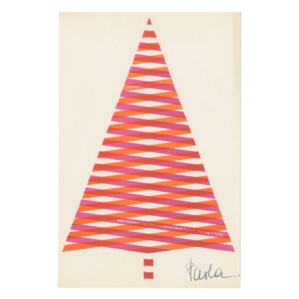 Christmas greetings: New York | Alan Fletcher