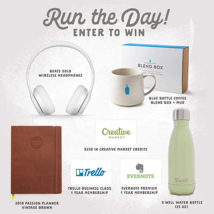On the Creative Market Blog - Win $250, Beats Headphones + More: Creative Market's Run The Day Sweepstakes