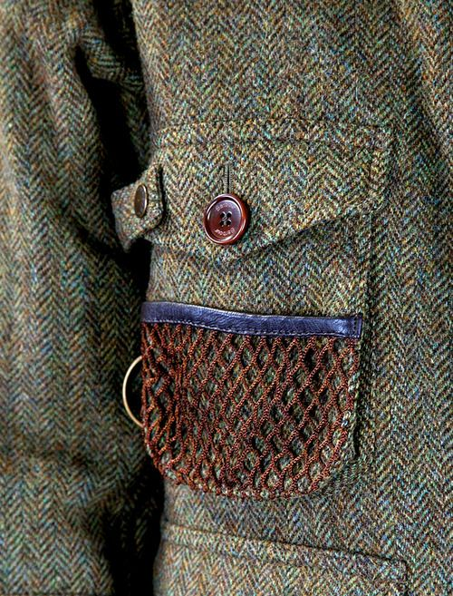 oldfishingphotos:    Barbour Tokito Wool Fishing Jacket    Source: new.wok-store    Time for Tweed    (via thornproof)