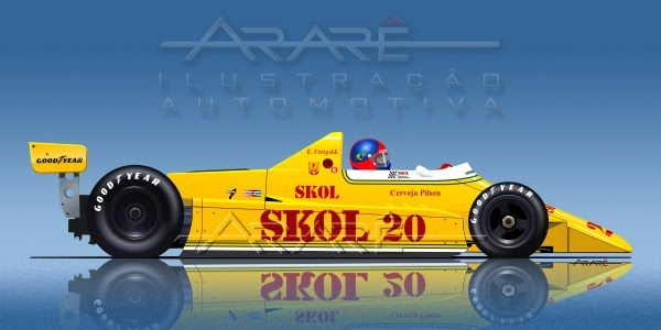 Fittipaldi f7 f8 | Fittipaldi F7 (Ford-Cosworh V8) - 1980.
