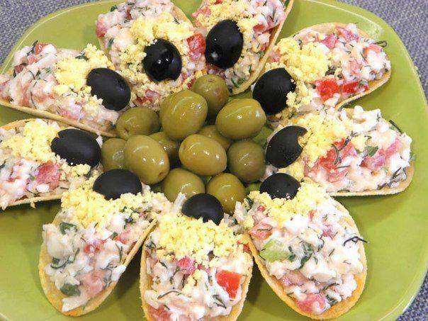 ТОП - 6 самых красивых и вкусных закусок | Наша кухня - рецепты на любой вкус!