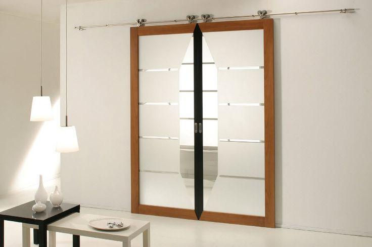 1000 imagens sobre porte coulissante no pinterest for Grande porte coulissante interieur