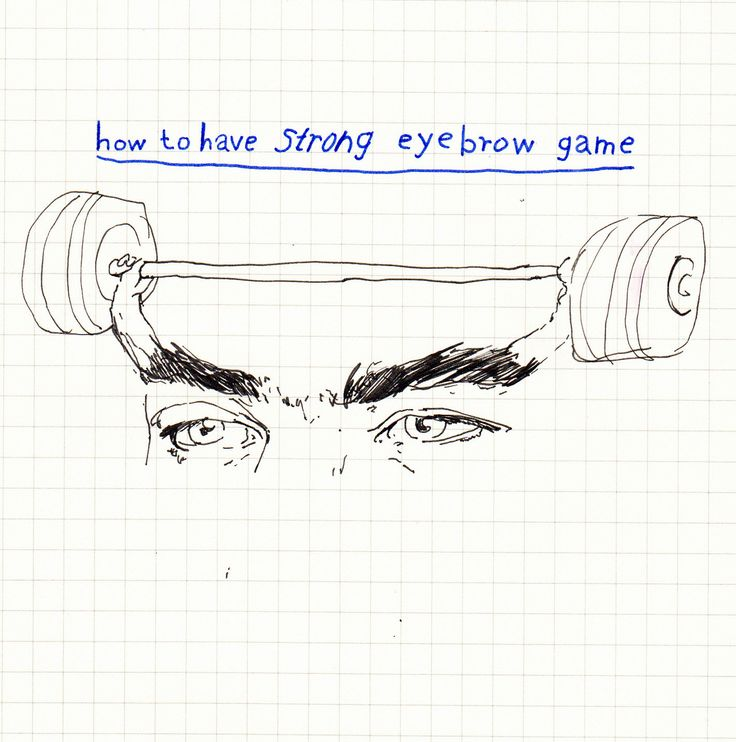 Get it?!: Eyebrows Secret, Strong Brows, Illustrations Art, Strong Eyebrows, Eye Brows, Art Photography, Posts, Eyebrows Games Strong, Be Strong