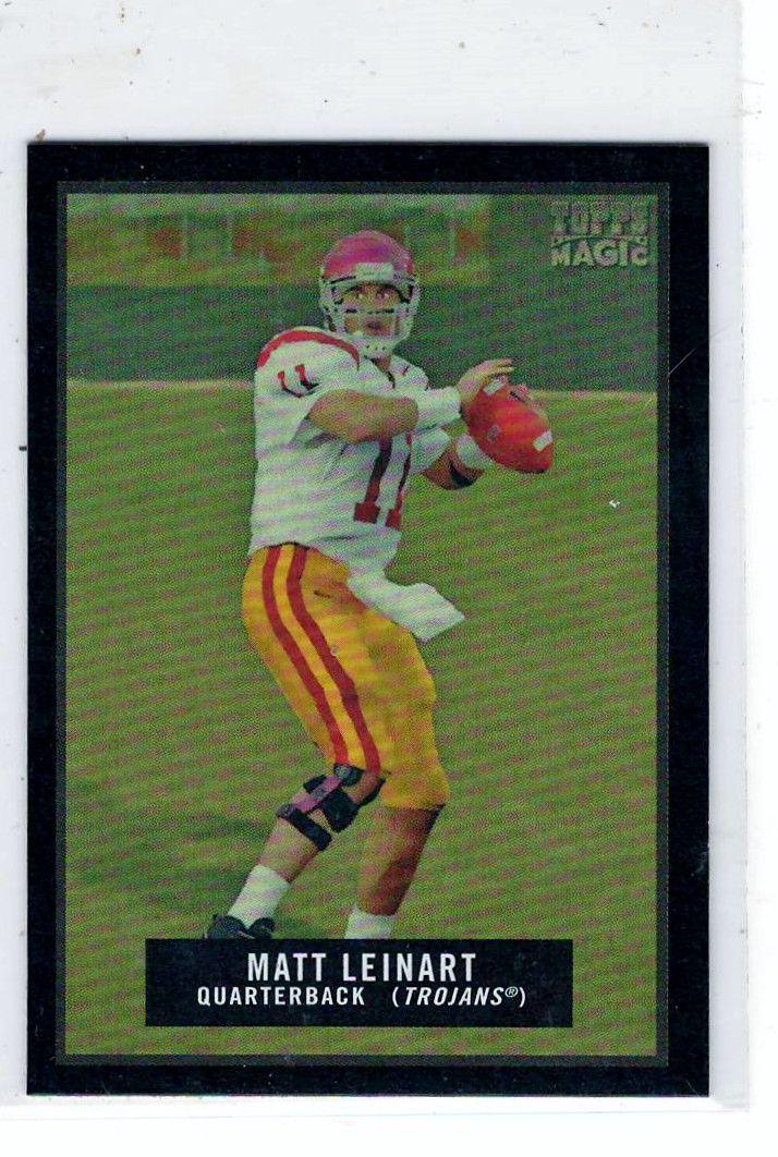 Sports Cards Football - 2009 Topps Magic Mini (Blk Border) Matt Leinart
