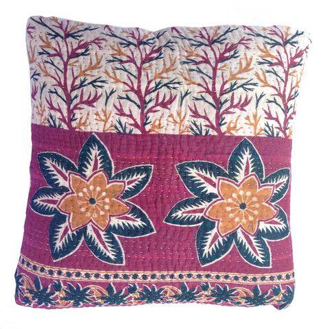 Basha Starfish Kantha Cushion