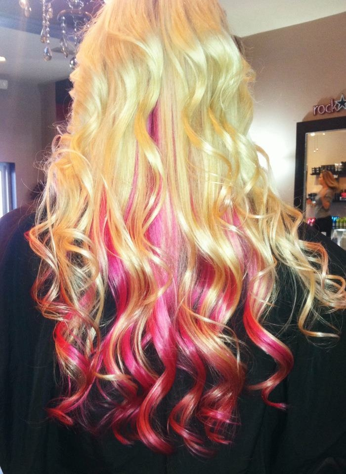 1000 Ideas About Extreme Hair Colors On Pinterest