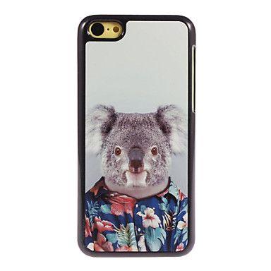 mooie koala design aluminium harde hoesje voor iPhone 5c – EUR € 4.99