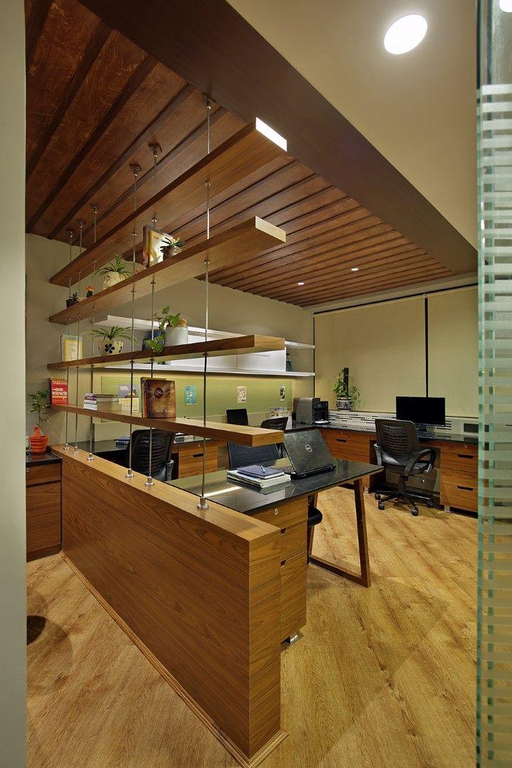 Corporate Office Interior Breaks The Monotony And Boring
