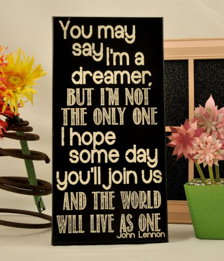 Imagine your own custom canvas you choose the lyrics for Room decor ideas quotes