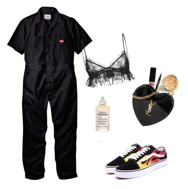 """Skepta: Banned From America Tour"" by eyelinerxbaddecisions ❤ liked on Polyvore featuring Giambattista Valli, Maison Margiela, NYX, Smith & Cult, Too Faced Cosmetics and Yves Saint Laurent"