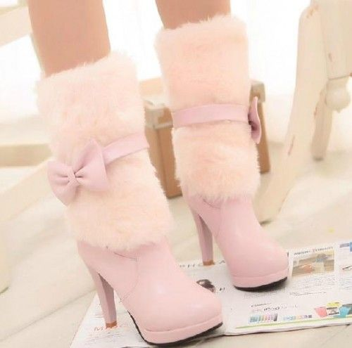 Miss snow High Heels Boots #ShopSimple
