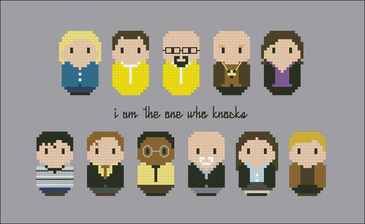 Breaking Bad - Cross Stitch Patterns - CloudsFactory