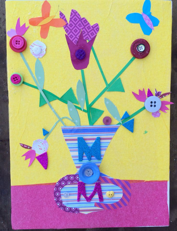 Collage party for 7-8 yr olds #childrensart