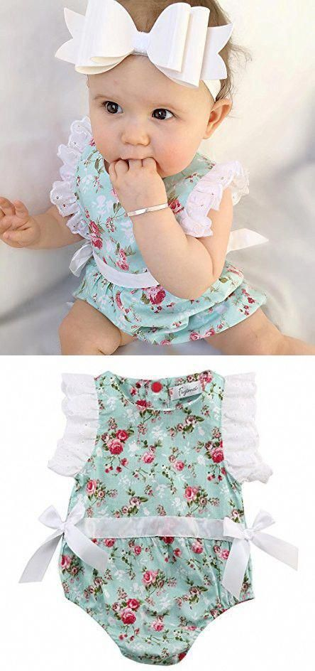 Hearty Adorable Kid Baby Girl Sisters Matching Romper Dress Floral Print Lace Outfit Clothes Sleeveless Fashion Purple Family Outfits Numerous In Variety Mother & Kids