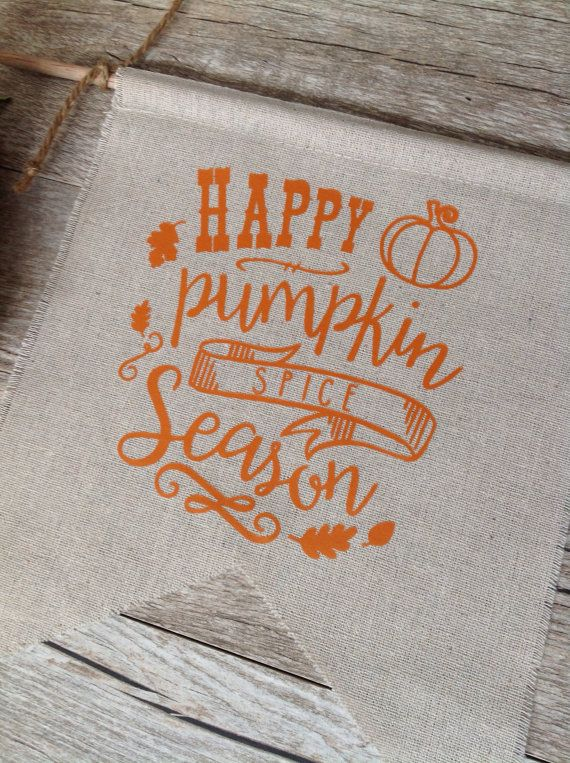 Pumpkin Spice Wall Decor Autumn Sign Harvest by KitchStudios
