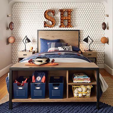 morgan storage bed pbteen