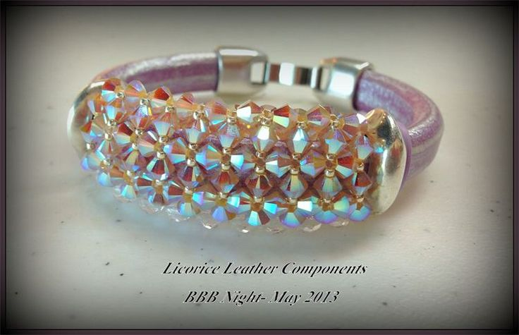 Licorice Leather Bead - Beadjoux - Home - Braselton, GA