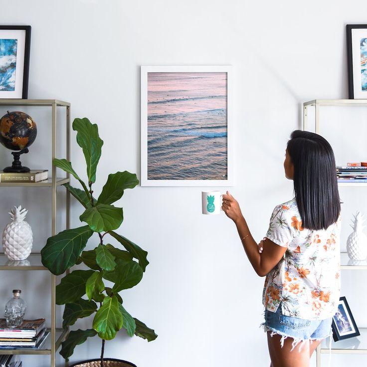 Sunset Surf - Art Print – The Salty Pineapple Shop