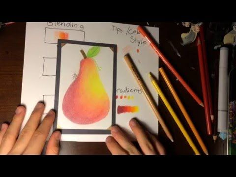 Prismacolor Pencil Tips And Techniques - YouTube