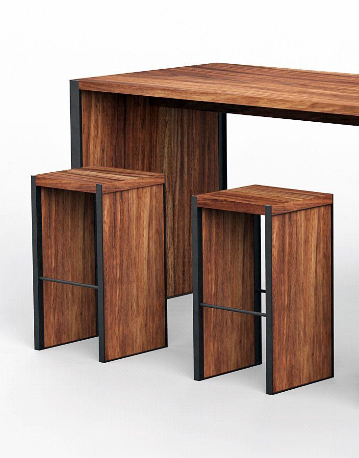 Modern Wooden Bar Tables Mesas De Bar Mesa De Bar Bar Madera