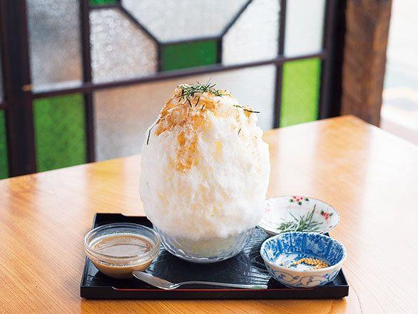 醤油とミルクのコラボレーション? 和食店らしさが光るかき氷とは|劇的な進化を遂げた ふわっふわ東京最新かき氷和kitchenかんな