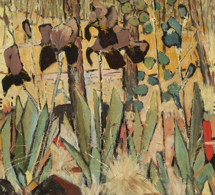 Clifton Pugh ~ Irises, 1956