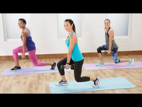 20-Minute Total Body Sculpt and Tone Workout with Autumn Calabrese | Cla...