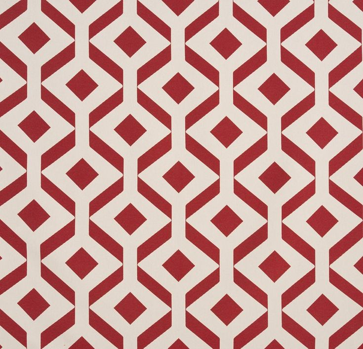 """""""Feroe"""" Balance and harmony of 50s-inspired geometric patterns. Comes in 3 colors."""