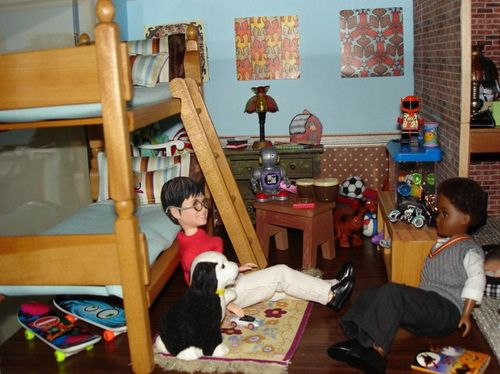 Miniature Children S Bedroom Room Box Diorama: 21 Best Images About Bedrooms Kids On Pinterest