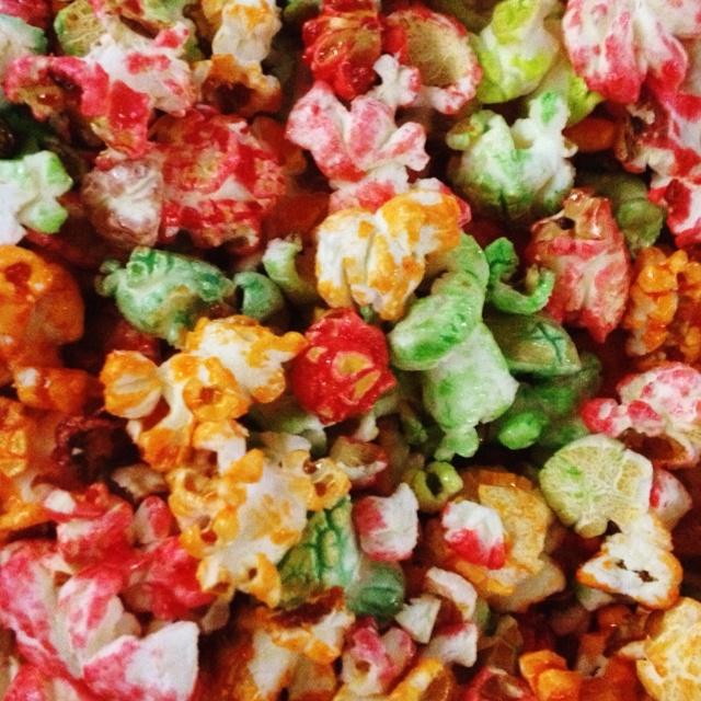 Palomitas de colores