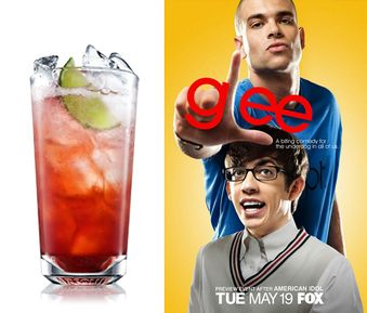 Description Get weak in the knees for Glee! Ingredients 1 1/2 oz Absolut Mandarin vodka 2 oz...