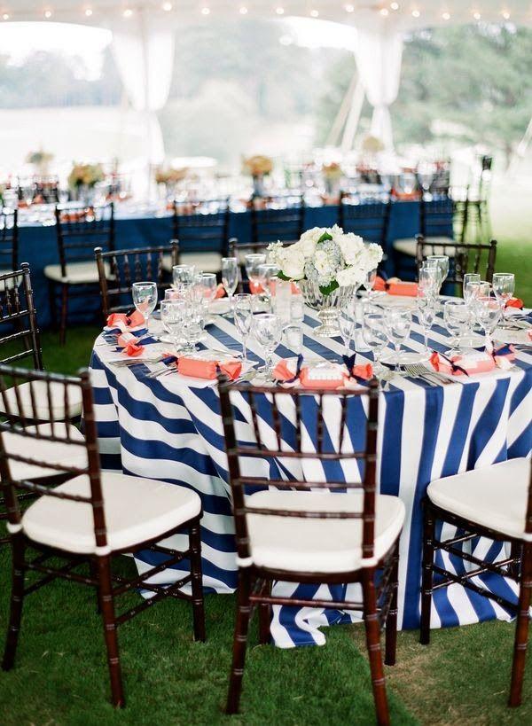 nautical table decorations for weddings httpsimpleweddingstuffblogspotcom