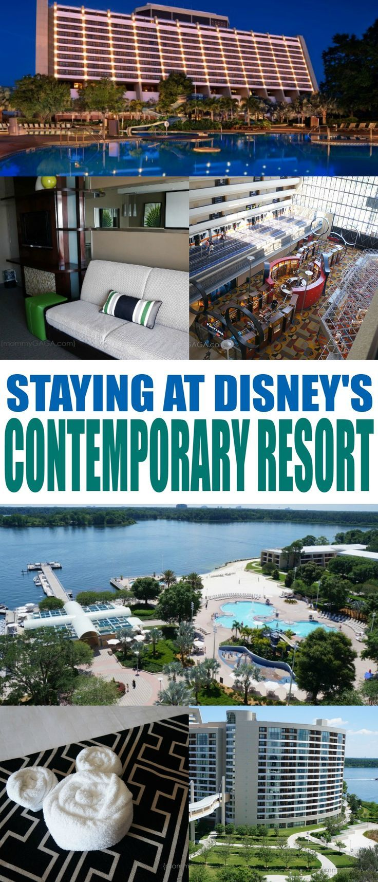 Stay At The Walt Disney World Contemporary Resort- You'll Love The Extra Magic!